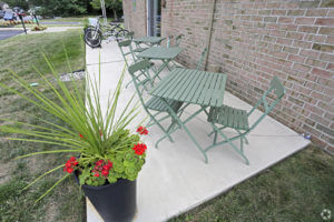 Korman Residential - Willow Shores Patio