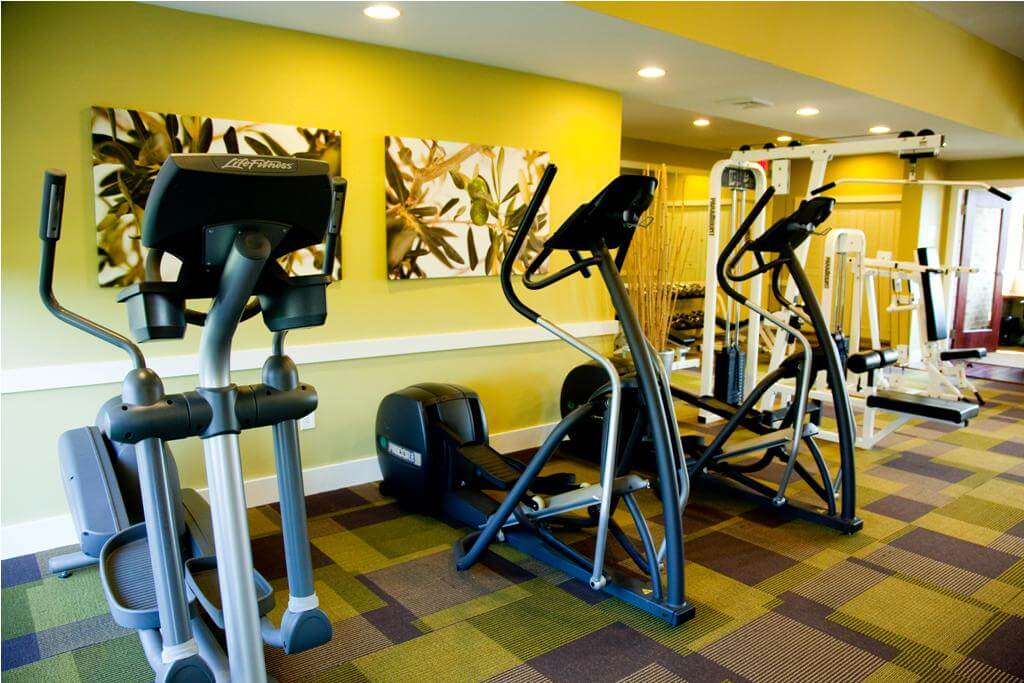 fitness center at Korman Residential at Cherrywood in Clementon NJ
