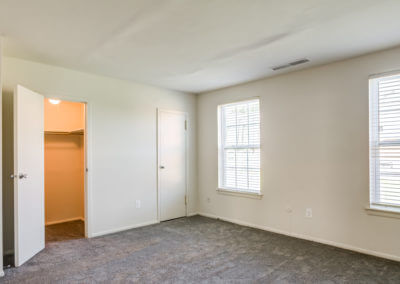 One bedroom with a large closet at Korman at Cherrywood